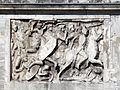 Arch of Constantine, Trajanic frieze panel Attic West, Rome (8130481114).jpg
