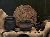 Prehistoric earthenware from the area of modern-day Poland