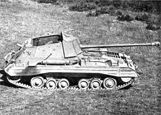 1943 British tank destroyer