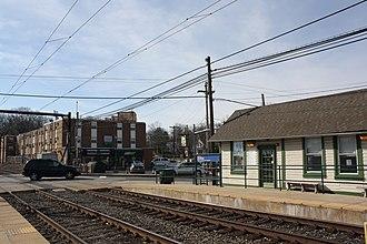 Ardsley station - Image: Ardsley Train Station, Ardsley PA 02