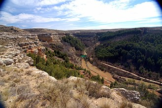 Jiloca (comarca) - View of Arguilay in Báguena