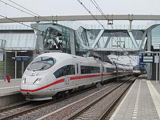 ICE trein bij Arnhem