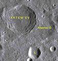 Artem'ev sattelite craters map.jpg