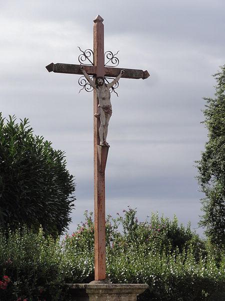 Artemps (Aisne) croix de chemin