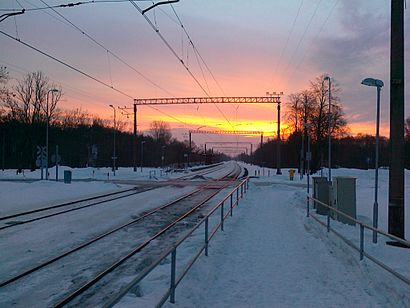 Kuidas ühistranspordiga sihtpunkti Aruküla raudteejaam jõuda - kohast