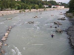 Arve - The Arve near Annemasse, Haute-Savoie