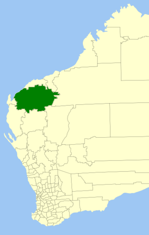 Shire of Ashburton - Location in Western Australia