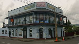 Ashhurst - Ashhurst's Commercial Tavern