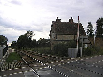 Aspley Guise railway station - Image: Aspley Guise railway station 1