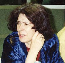 Assia Djebar in 1992