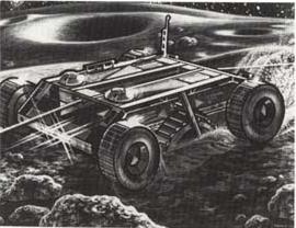 Asteroid mining vehicule