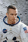 Astronaut Eugene A. Cernan, prime crew lunar module pilot of the Apollo 10 lunar orbit mission.jpg