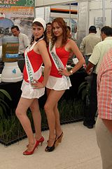 Convention models on the ATAM convention in 2009 in Mexico.