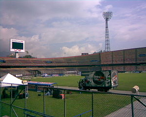 Atanasio Girardot Sports Complex - Atanasio Girardot Stadium before it was remodeled.