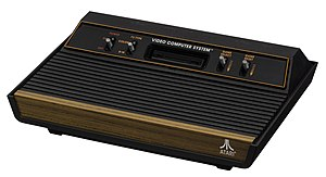 Atari 2600 - Later 2600 models only used four front switches.