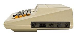 Atari SIO - Image: Atari 800 Computer Port Side