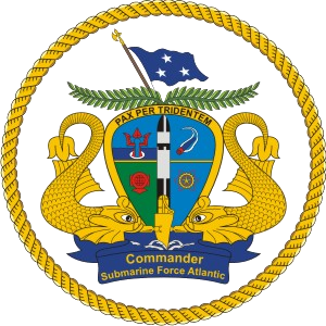 COMSUBLANT - Image: Atlantic submarine command badge
