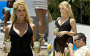 English: Audrey Landers in Burn Notice at the ...