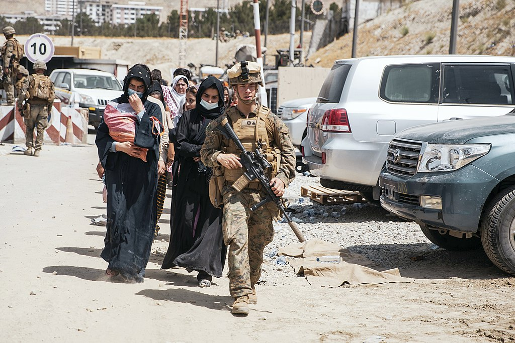 August 19 2021 Evacuation at Hamid Karzai International Airport 2