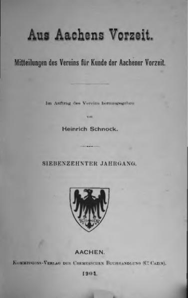 File:Aus Aachens Vorzeit 17 Jg 1904.djvu