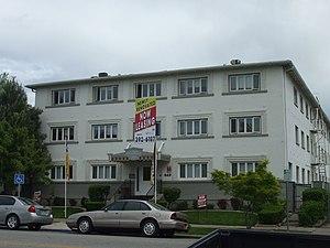 National Register of Historic Places listings in Weber County, Utah - Image: Avelan Apartments Ogden Utah