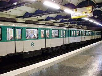 Avenue Émile Zola (Paris Métro) - Image: Avenue Émile Zola métro 03