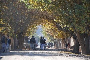 Avenue in Faizabad, Badakhshan Province, Afghanistan.jpg
