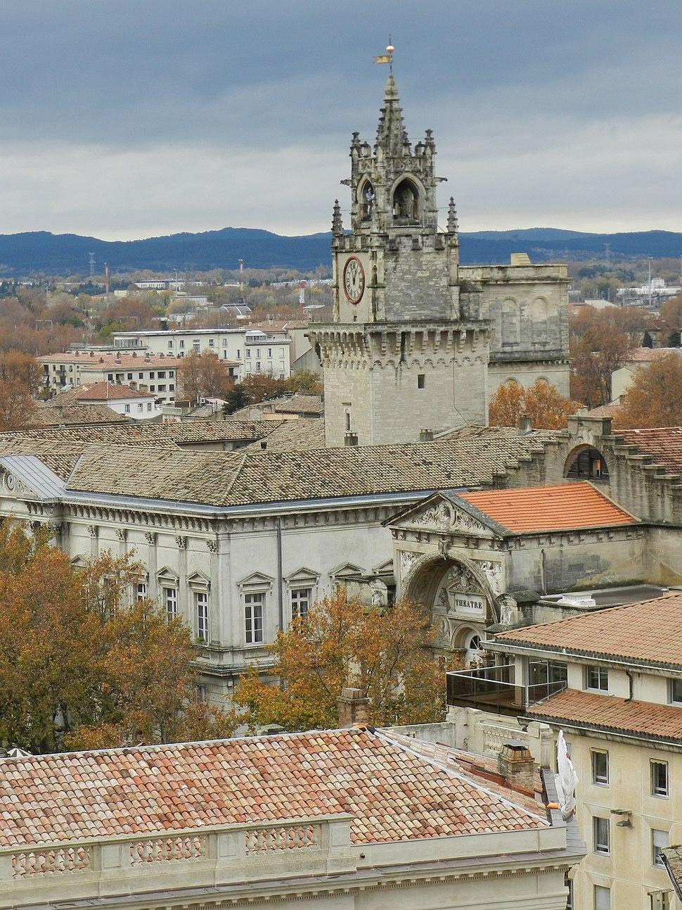 Avignon Clock Tower - L'horloge