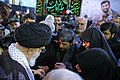 Ayatollah Khamenei in Funeral of Mohsen Hojaji in Tehran 014.jpg
