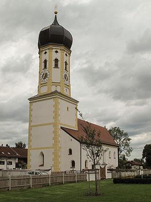 Aying - Image: Aying, Pfarrkirche Sankt Andreas foto 4 2012 08 06 12.34