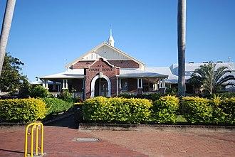 Ayr, Queensland - Ayr courthouse, 2009