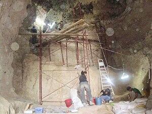 Azokh Cave - Excavations in 2009