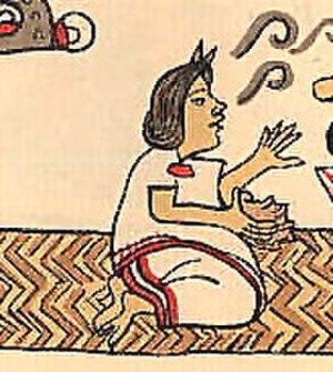 Chichimecacihuatzin II - Image: Aztec woman