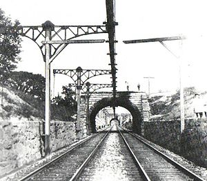 Baltimore Belt Line - Image: B&O electrification