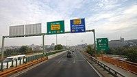 Bělehrad, most Gazela, návěst.jpg