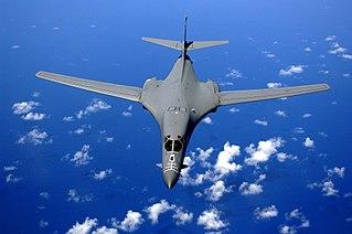 Rockwell B-1 Lancer Strategic bomber by Rockwell, later Boeing