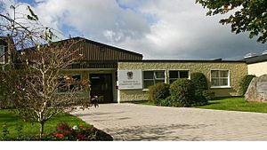 Bishopstown Community School - Front entrance of BCS on Westgate Road