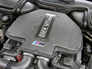 BMW M62 - S62 engine in an E39 M5