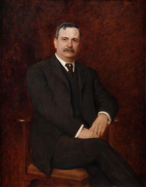 Benjamin Odell (politician) - Official Gubernatorial portrait of New York Governor Benjamin B. Odell Jr.