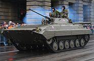 BVP-2 military parade Prague
