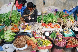 Rote Island - Town Market in Baa, Rote