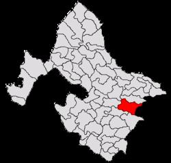 Vị trí của Bâcleș