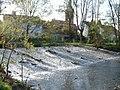Bad Nauheim, Schwalheim, Wetter Wehr (Bad Nauheim, Schwalheim, river Wetter weir) - geo.hlipp.de - 18043.jpg