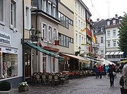 Jesuitenplatz in Baden-Baden