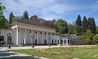 Kurhaus of Baden-Baden German spa resort and casino