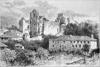 Bagrati Cathedral - Image: Bagrati Cathedral (1880)