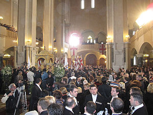 David Bagration of Mukhrani -  Wedding Ceremony, Holy Trinity Cathedral of Tbilisi