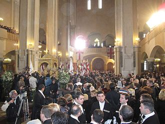 David Bagration of Mukhrani -  Wedding Ceremony, Holy Trinity Cathedral of Tbilisi