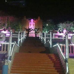 Kumbhoj - Bahubali Statue during Mahamastakabhishek