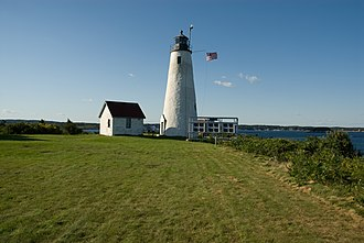 National Register of Historic Places listings in Salem, Massachusetts - Image: Bakers island light